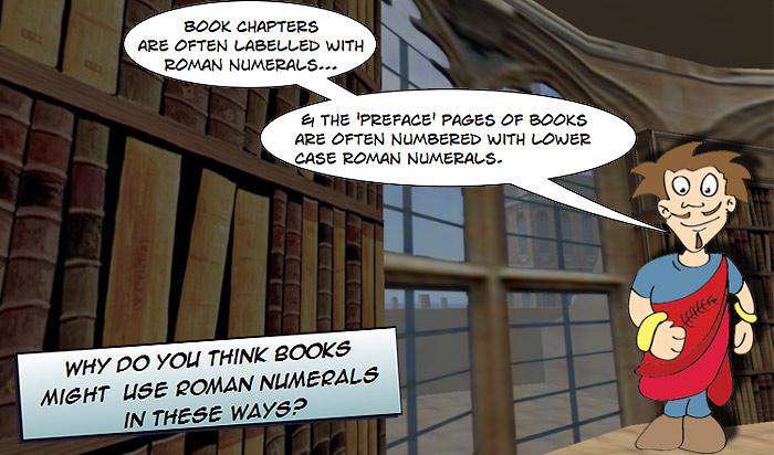 roman numerals in novels