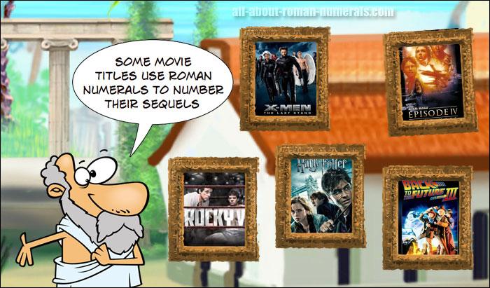 movie sequels roman numerals
