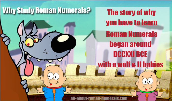 why learn roman numerals