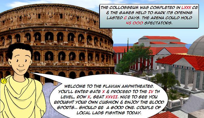 roman numerals colosseum
