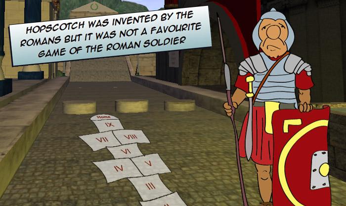 roman numerals games