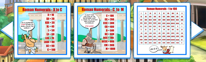 Roman Numerals Jigsaw Puzzles